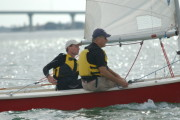 Eric Mann,(Skipper) Craig Carlson(owner of Red Barron)